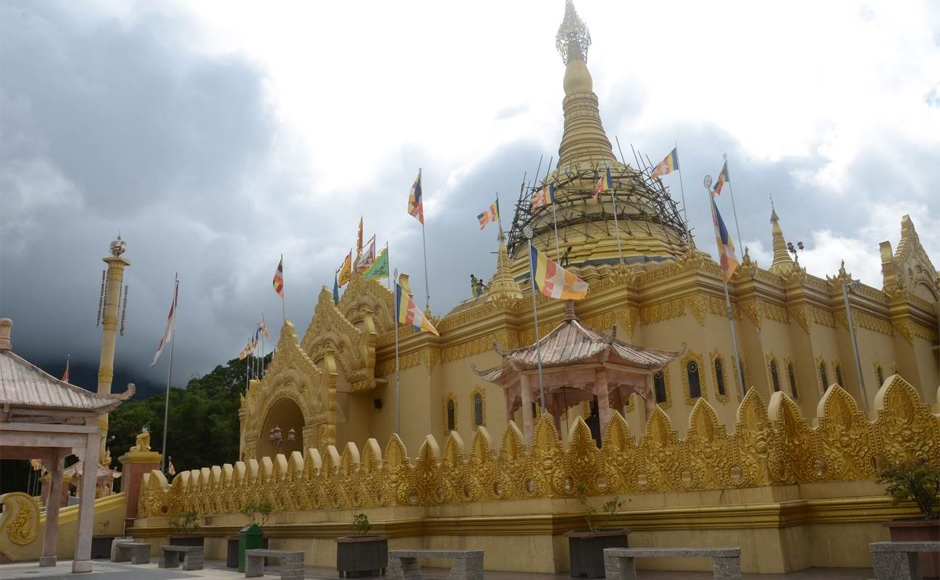 Pagoda di Tanah Karo